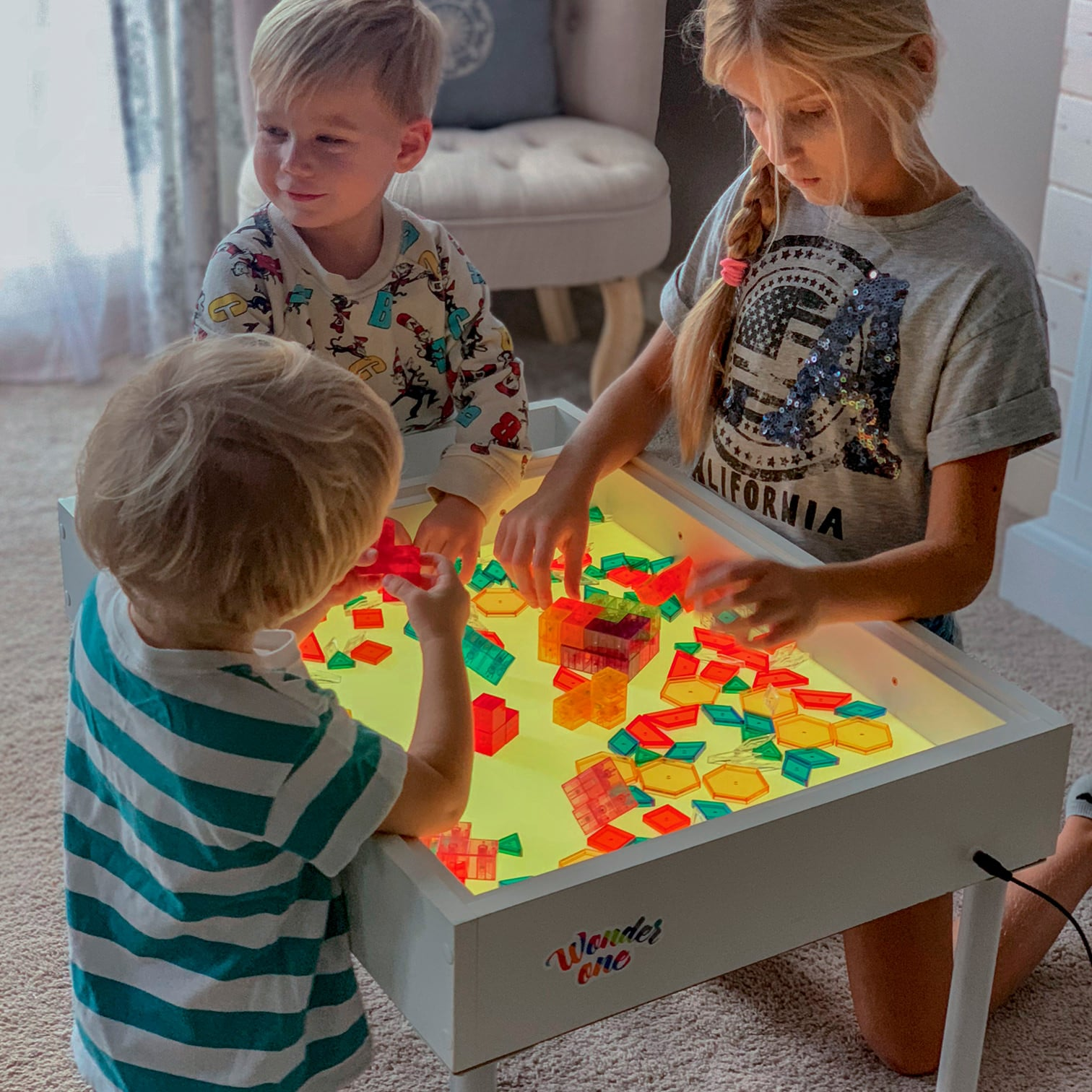 Simpl Light And Sensory Table Desk For Children Wonder One